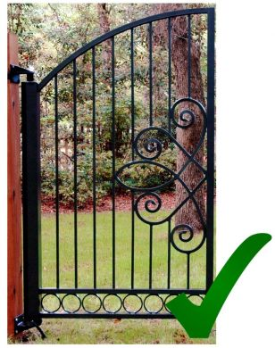 Turnstyle Armless Gate Opener