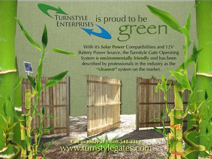 Green Gate Openers